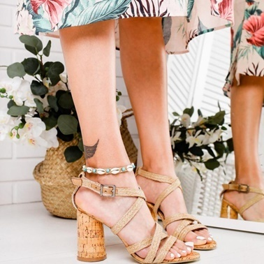 Limoya Sandalet Renkli